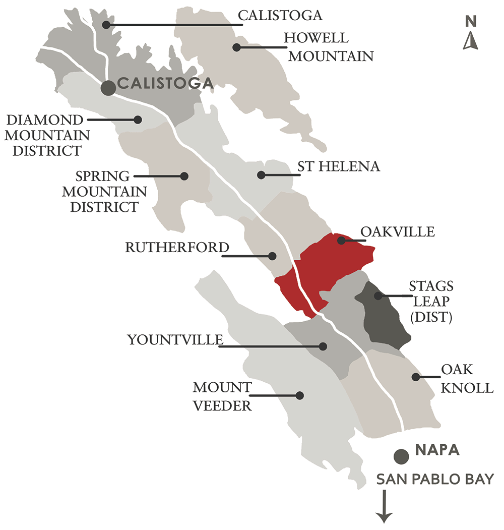 Napa Valley AVA Map