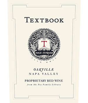 Textbook Page-Turner Oakville Proprietary Red Wine Label Image